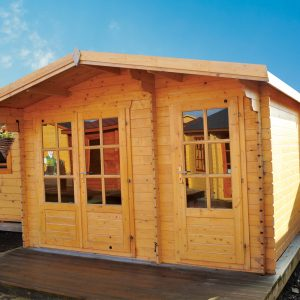 The Fremont Compact Log Cabin