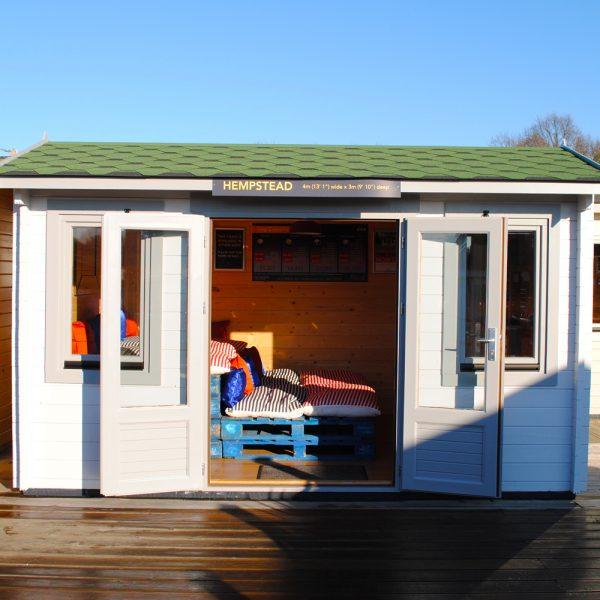 The Hempstead Log Cabin