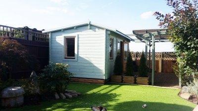 4m x 3m Summer house