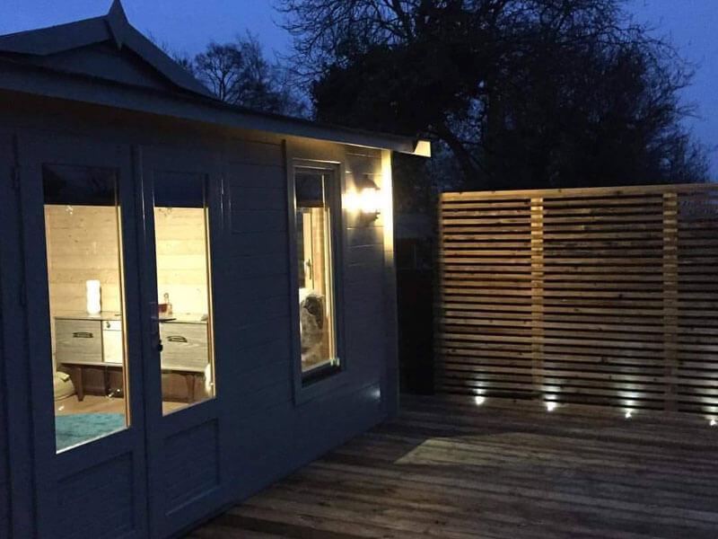 New Pavilion Night Time