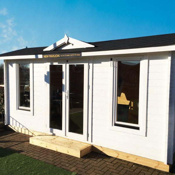 The New Pavilion Log Cabin