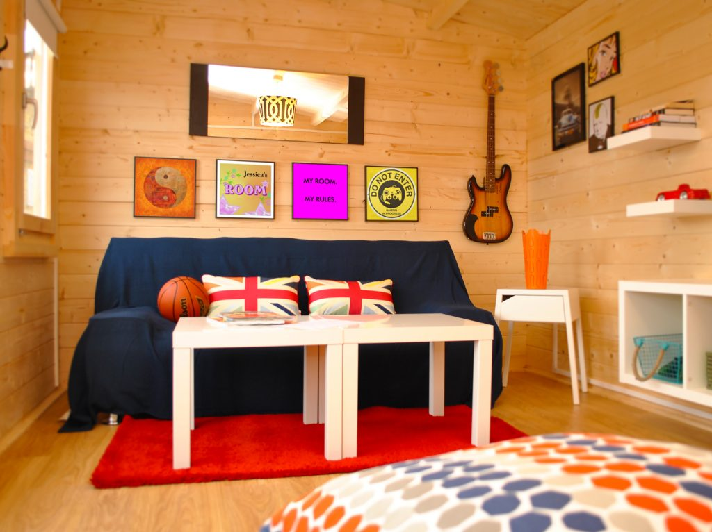log cabin inspiration what would you use yours for johnsons garden buildings. Black Bedroom Furniture Sets. Home Design Ideas