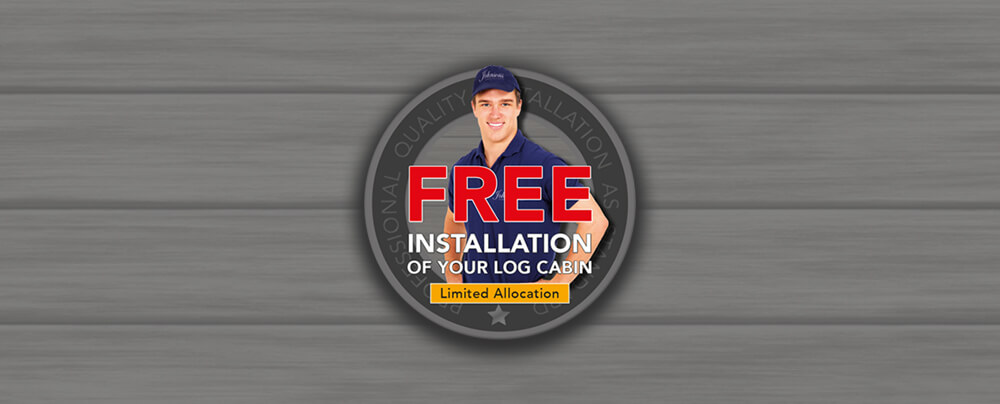 Free Installation - Limited Allocation