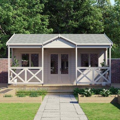 pavilion garden building
