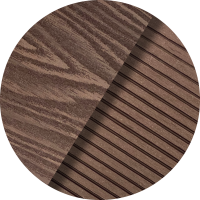 COLOUR SWATCHES-Brown Mahogany Wood Grain _ Pinstripe Ridged BM04