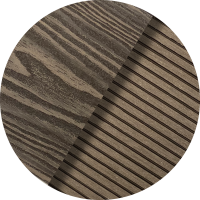 COLOUR SWATCHES-Brown Walnut Wood Grain _ Pinstripe Ridged BW05