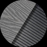 COLOUR SWATCHES-Grey Ash Wood Grain _ Pinstripe Ridged GA02